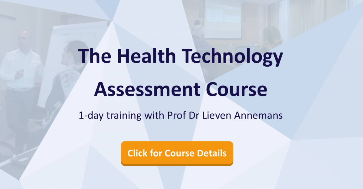 The Health Technology Assessment Course | 1-Day Training Course