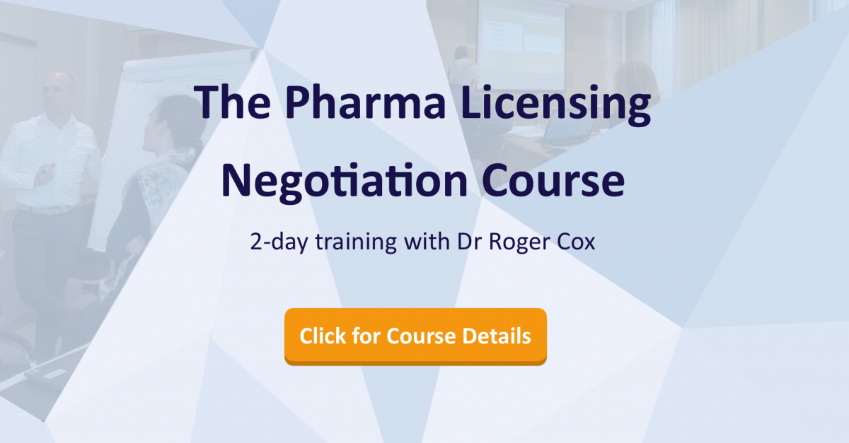 The Pharma Licensing Negotiation Course 2 Day Training Course