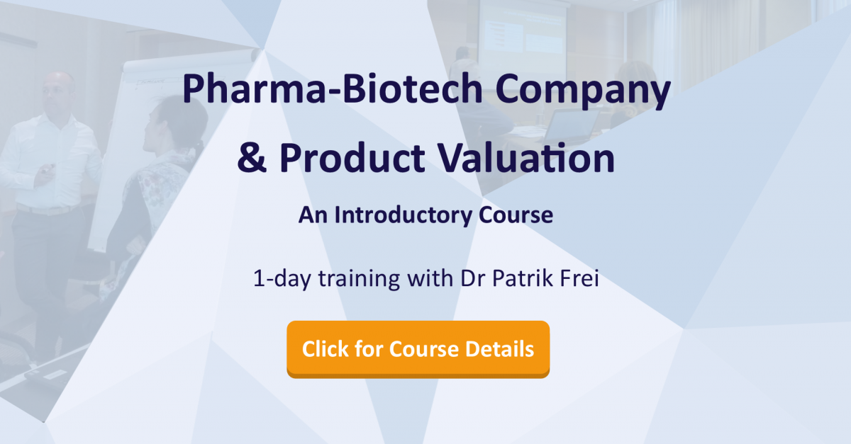 Pharma Biotech Product Company Valuation 1 Day Training Course